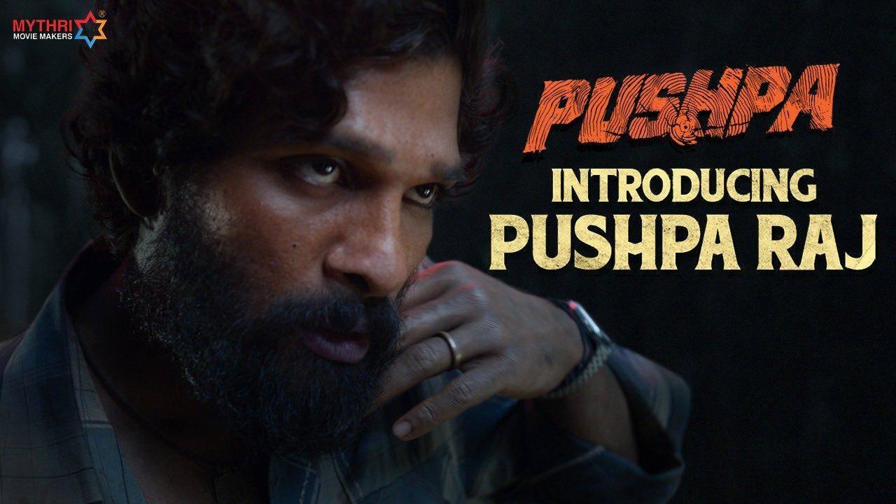 Introducing Pushpa Raj | Allu Arjun | Pushpa | Rashmika | Fahadh Faasil | DSp | Sukumar