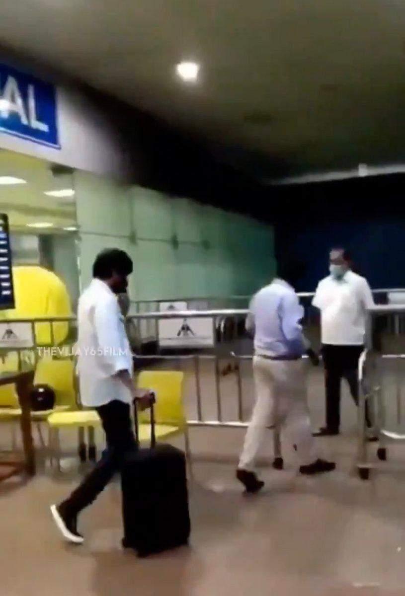 ஜார்ஜியாவில் ஷூட்டிங்கை முடித்து சென்னை புறப்பட்ட விஜய்… புதிய அப்டேட்…