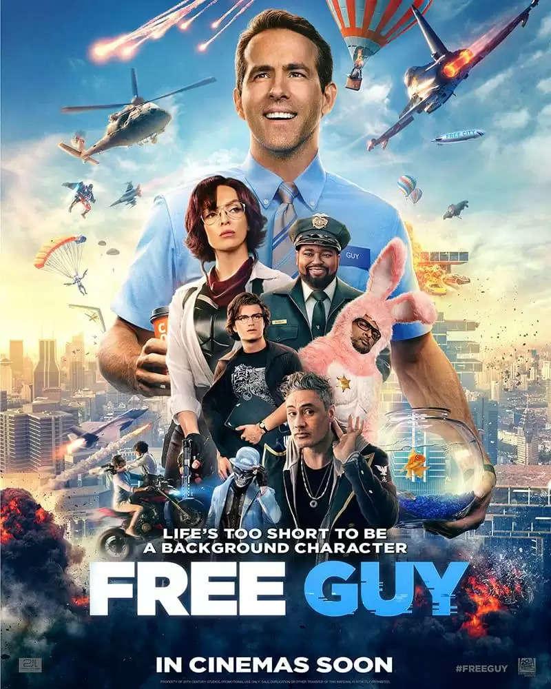 Free Guy | New Trailer | 20th Century Studios India