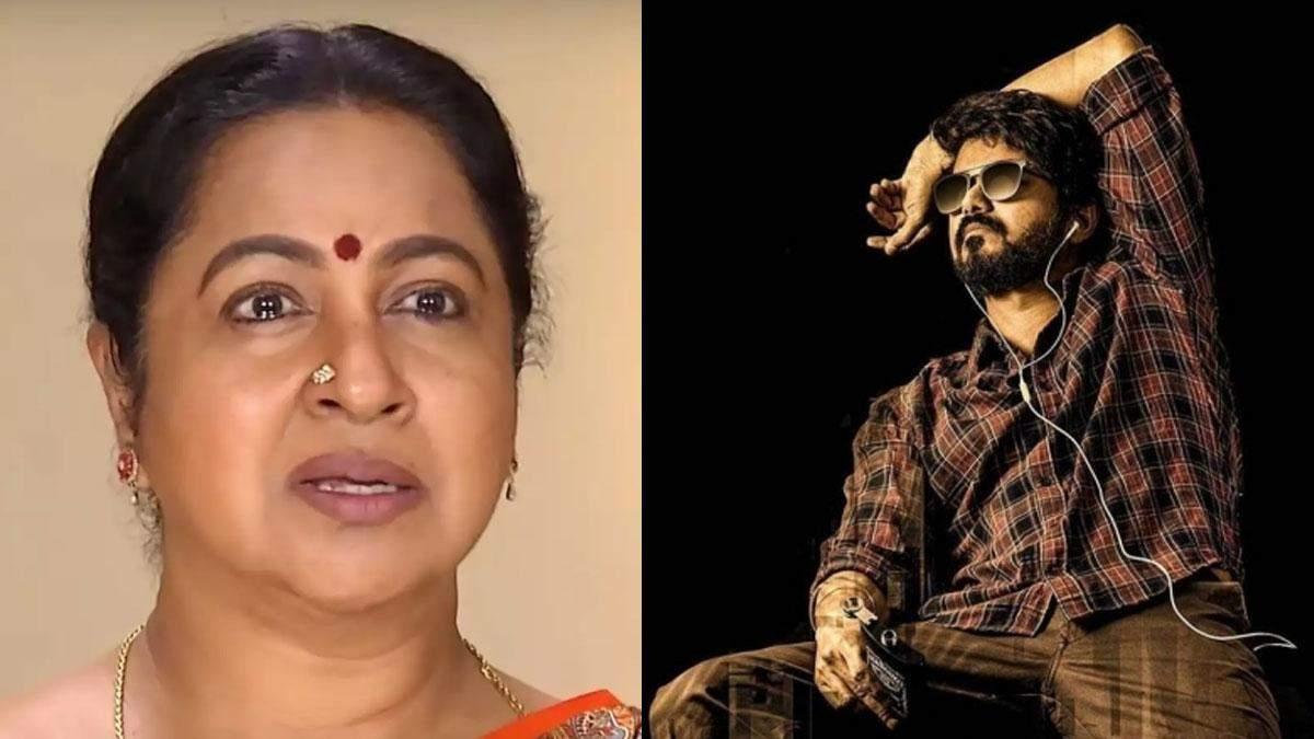 'Master to release on OTT?' – Radhika Sarathkumar upset